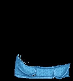 Adoptuj Chomik Lampart niebieski