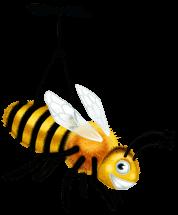 Pluszowy Pszczół