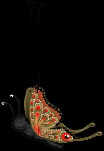 Motyl pluszowy