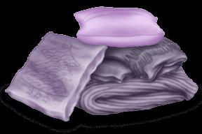 Domki z poduszkami i pokrowcami