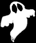 Fantôme Halloween 2018