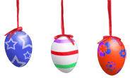 Wiszące jajka