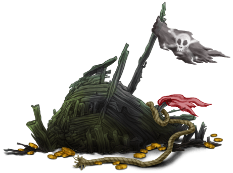 Phantom Boat Carcass
