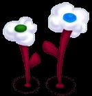 Kwiaty w chmurze