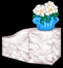 Blok roślin w Grecji