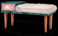 Futerkowa ławka