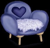 Futerkowe krzesło