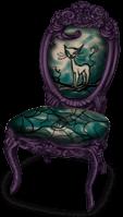 Krzesło Dark Castle