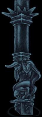 Dark Castle Pillar