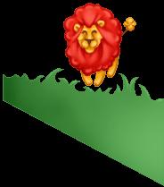 Lion Baby Wall Decor