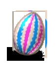 Zdobione jajko 1