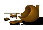 Oeuf en chocolat mangé