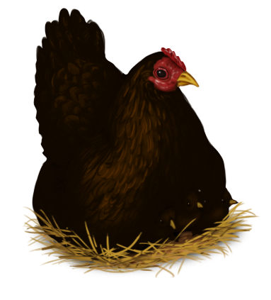 Poule Pâques