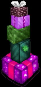 Stos prezentów