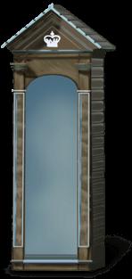 Angielska kabina królewska