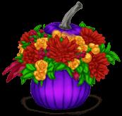Pot de Fleurs Halloween 2013