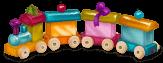 Pokój dziecięcy Little Train