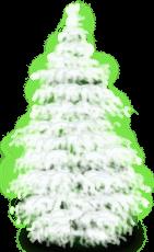 Śnieżne Śnieżne Drzewo