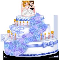Gigantyczny tort weselny