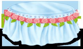 Stolik do kawy tort weselny