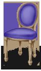 Ścieżka do tańca na krześle