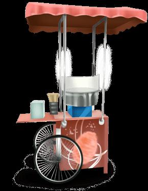 3-letnia maszyna do produkcji waty cukrowej
