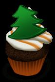 Boże Narodzenie Cupcake