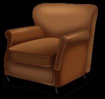 Fotel świąteczny