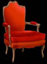 Fotel matki Bożego Narodzenia