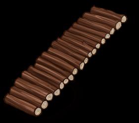 Drewniana drabina