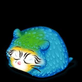 Adoptuj Chomik Niebieska ara