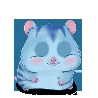Adoptuj Chomik Niebieski tygrys