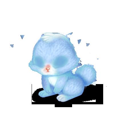 Adoptuj Królik Pastelowy Niebieski