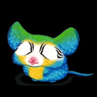 Adoptuj Mysz Niebieska ara
