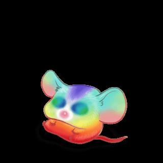 Adoptuj Mysz Tęcza