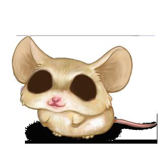 Adoptuj Mysz Beżowy Brązowy