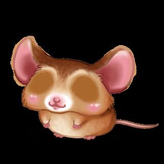 Adoptuj Mysz Złoty beż