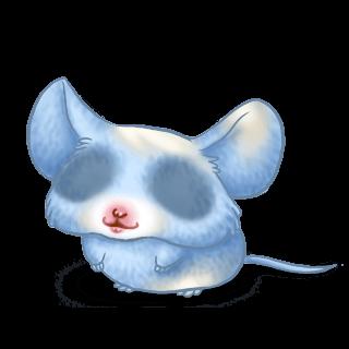 Adoptuj Mysz Pastelowy niebieski