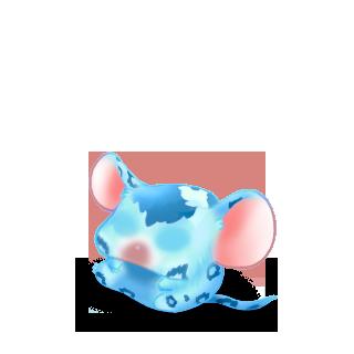 Adoptuj Mysz Lampart niebieski