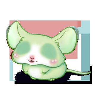 Adoptuj Mysz Pistacjowy
