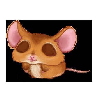 Adoptuj Mysz Czerwony baran