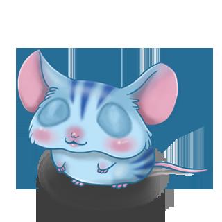 Adoptuj Mysz Niebieski tygrys