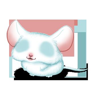 Adoptuj Mysz śnieg