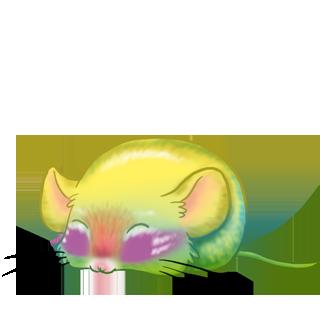 Adoptuj Mysz Beżowy i Czarny