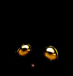 Adoptuj Mysz Złoty brokat